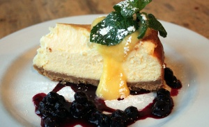Red Lion Lemon Cheesecake