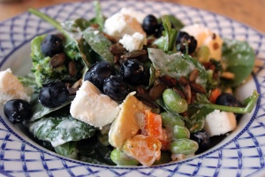 Red Lion feta salad